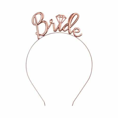 vrijgezellenfeest-decoratie-diadeem-bride-rose-gold
