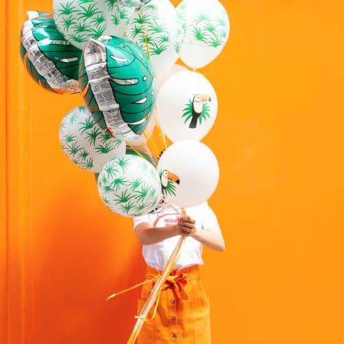 feestartikelen-folieballon-tropical-leave-2