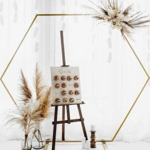 bruiloft-decoratie-backdrop-standaard-hexagon-gold-2
