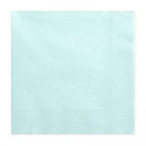 bruiloft-decoratie-servetten-pale-turquoise
