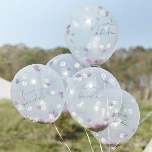 vrijgezellenfeest-artikelen-confetti-ballonnen-team-bride-boho-floral