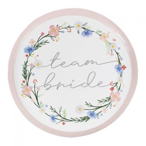 vrijgezellenfeest-artikelen-papieren-bordjes-team-bride-boho-floral