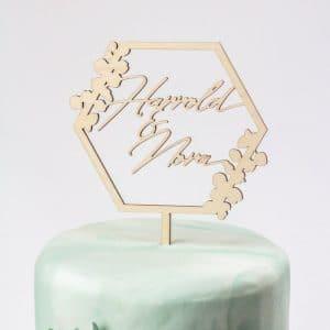 bruiloft-decoratie-taarttopper-eucalyptus-gepersonaliseerd