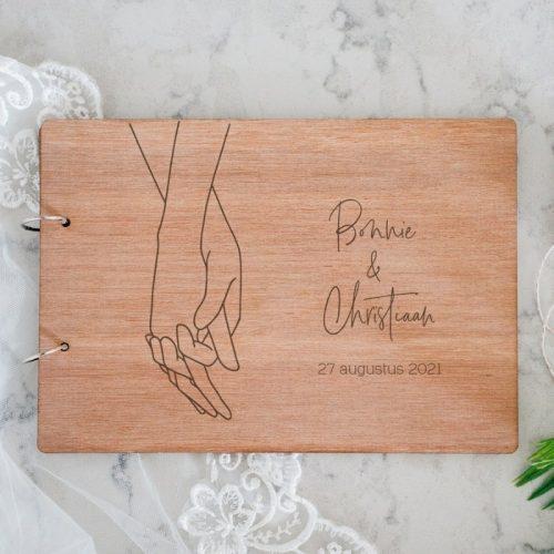 bruiloft-decoratie-gastenboek-loving-hands