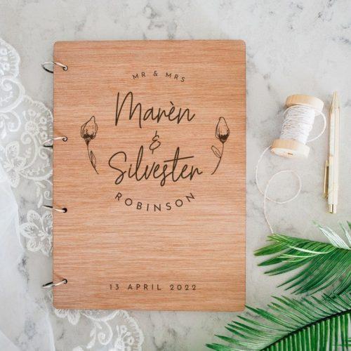 bruiloft-gastenboek-bloemknop
